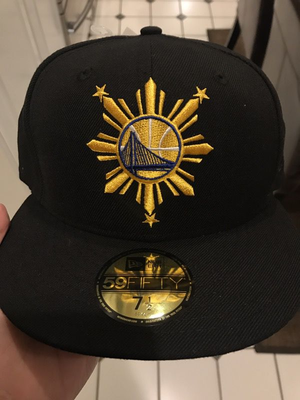 New Era Golden state Warriors Filipino heritage flag hat sz 7 1 2 new for  Sale in San Francisco e9ee6717a