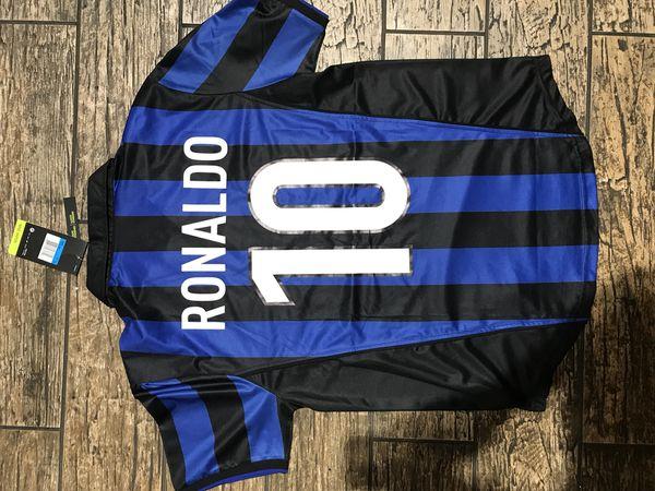 top fashion 770bc bea42 Ronaldo Nazario jersey internacionale fc number 10 for Sale in Tamarac, FL  - OfferUp