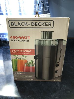 Photo New black and decker juicer