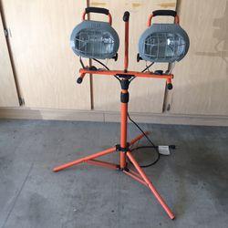 HDX 1000 watts Halogen Tripod Shop Work light Thumbnail