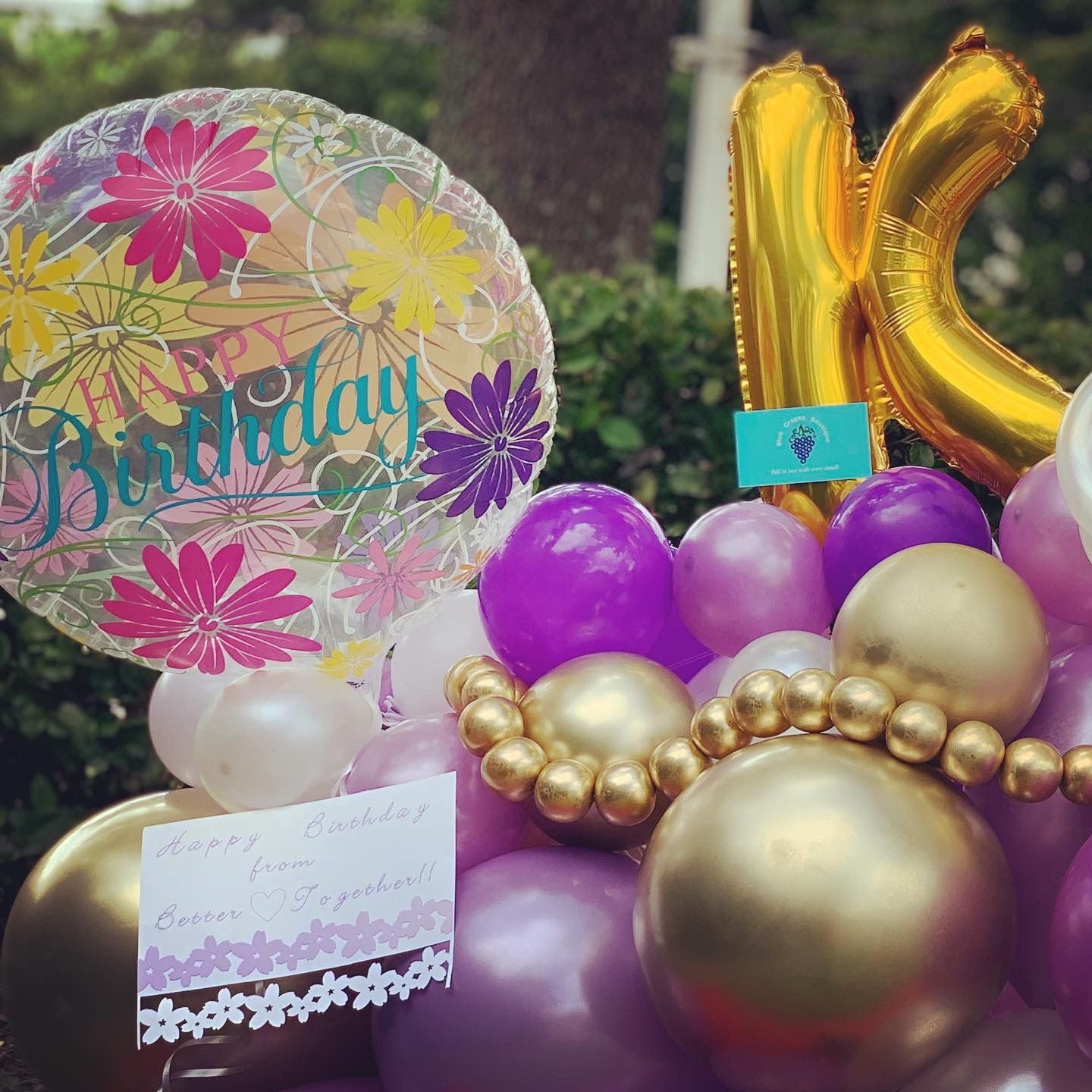 Balloon Bouquet personalized