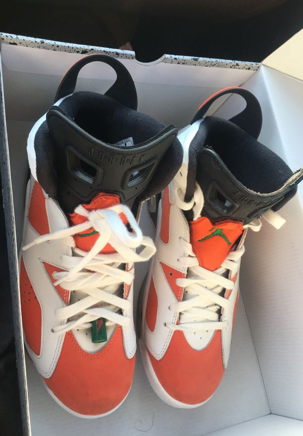 637a9a5a7013 Jordan retro 6 Gatorade size 8 only worn 1 for Sale in Lake Worth