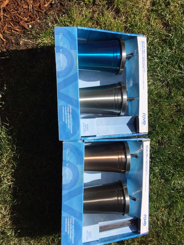 53acfa4671e Rove stainless steel tumblers for Sale in Gig Harbor, WA - OfferUp