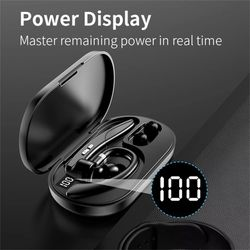 Bluetooth True Wireless Earphone 5.0 Earbuds  Headset Noise Reduction Thumbnail