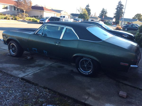 Classic 1972 Chevy Nova SS Clone for Sale in Fremont, CA - OfferUp