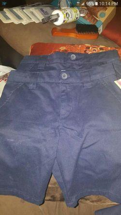 Blue uniform shorts and skirt Thumbnail