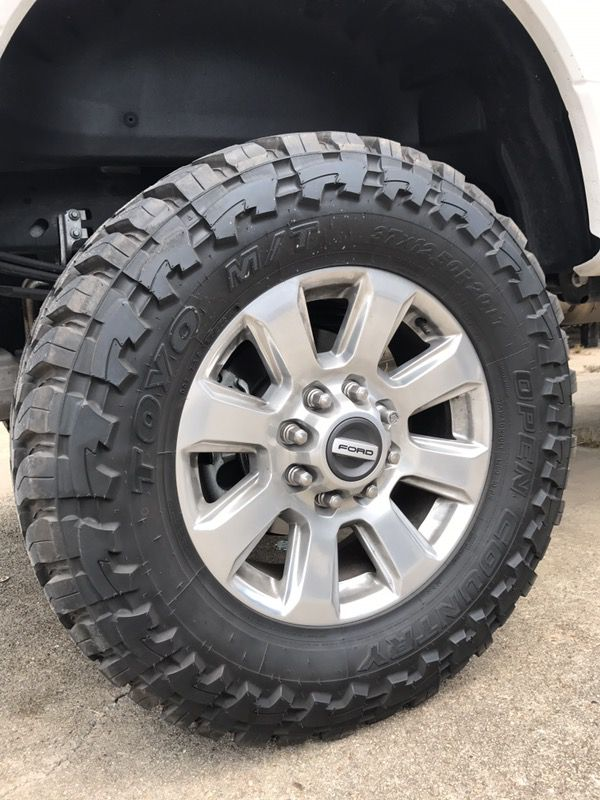 20inch Ford F-250 platinum/ 37x12.50r20 toyo mt for Sale ...