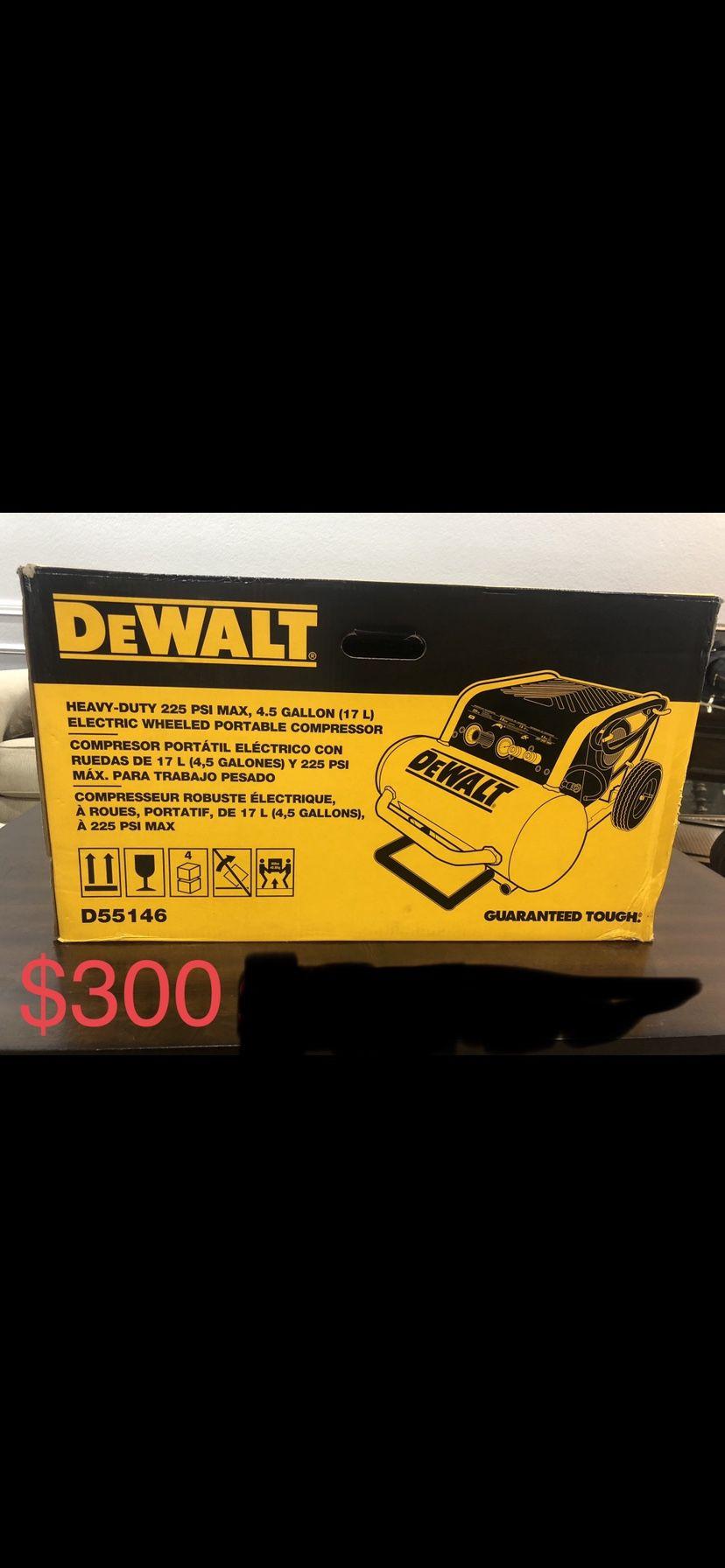 4.5 Gal. Portable Electric Air Compressor by DEWALT