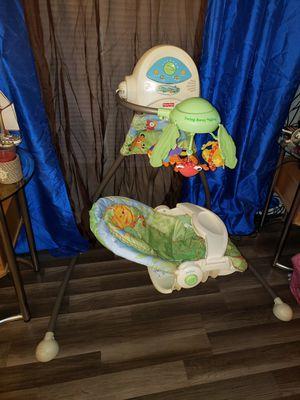 Photo Fisher Price Rain Forest Baby Swing