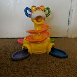 Fisher Price GO BABY GO Sit-To-Stand GIRAFFE Thumbnail