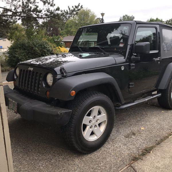 2008 Jeep Wrangler X 2 Door For Sale