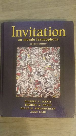 invitation French text book for Sale in Nashville, TN