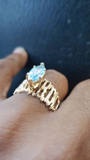 10k yellow gold solid ring for Sale in Winter Springs, FL