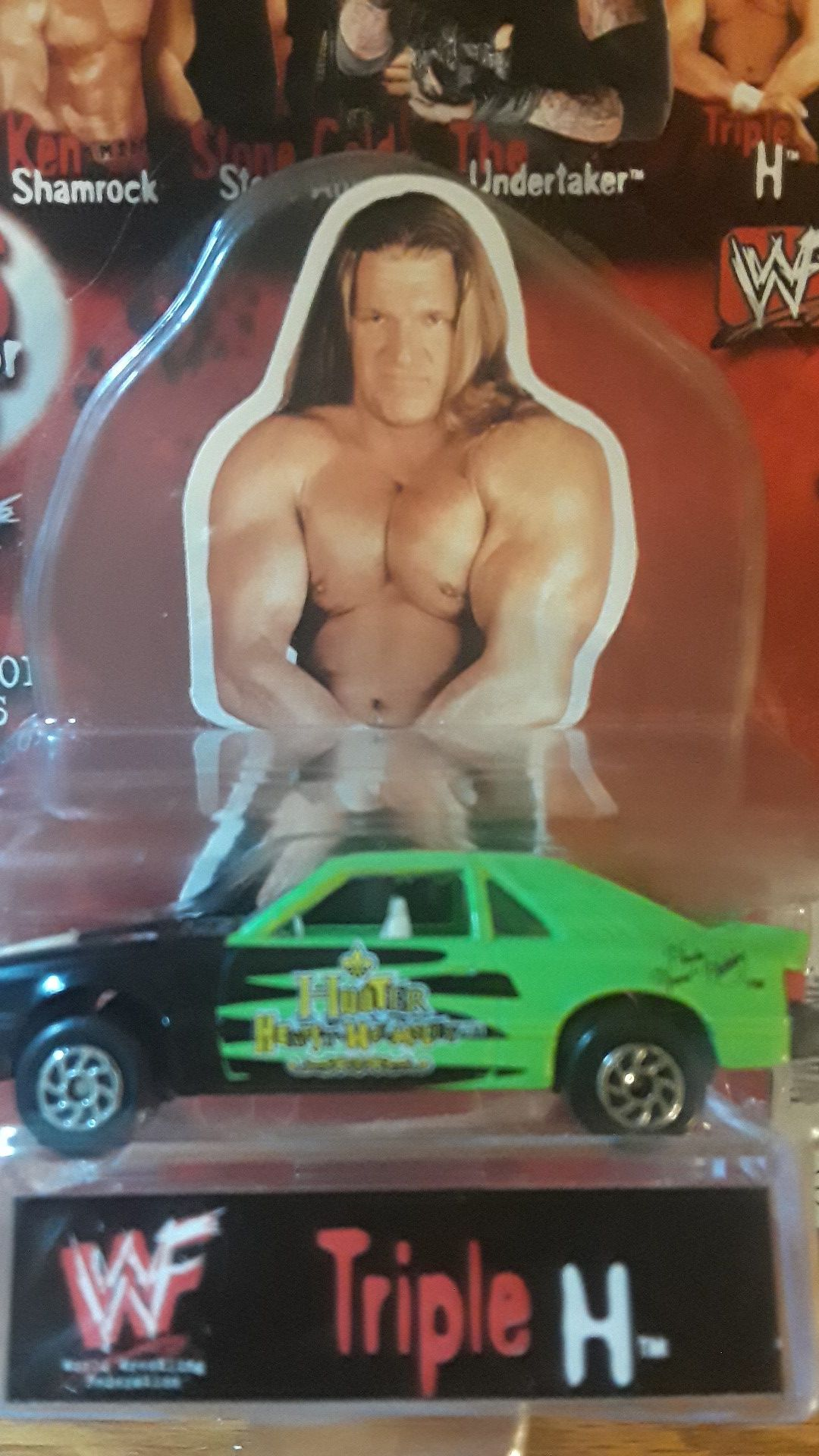 WWF Mustang collectible