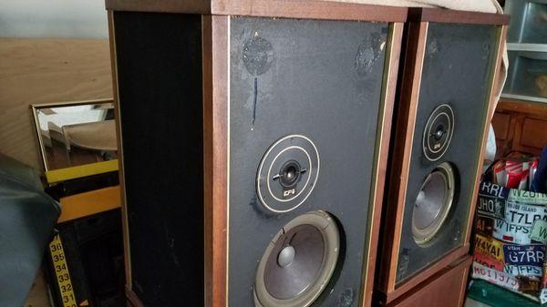 Set of Four EPI M250 Vintage Speakers for Sale in Strongsville, OH - OfferUp