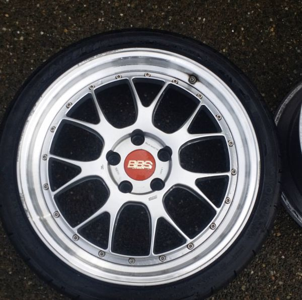 Authentic BBS LM-Rs For Sale. 5x120 8.5(32)/9.5(35) For