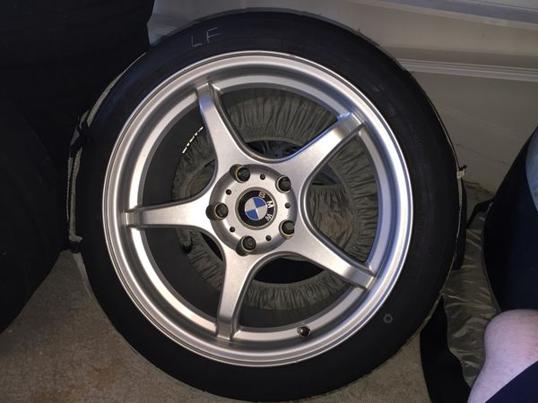 b5aa54a2148d BMW E36 M3 D-force ltw5 17x9 Wheels w tires for sale for Sale in ...