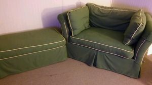 Custom pull out seat with ottoman***make offer** for Sale in Chesterfield, VA