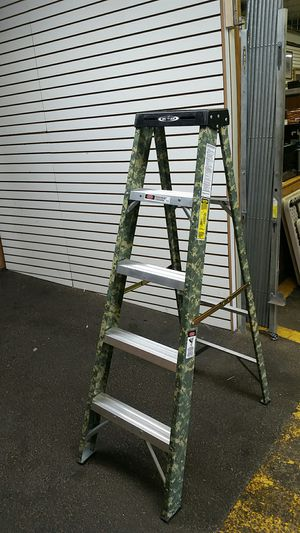 Werner Camo Ladder for Sale in Baltimore, MD