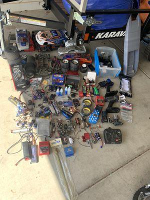 Photo Huge Rc lot!! Castle creations, Traxxas , hpi , slash etc. etc.