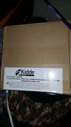 KIDDE Wired carbon monoxide smoke fire alarm new for Sale in Washington, DC
