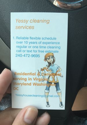 free estimated house cleaning service you can call or message without any commitment for Sale in Annandale, VA