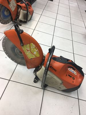 STIHL CONCRETE SAW MODEL TS-420 (overhauled) WORKING PERFECT for Sale in Orlando, FL