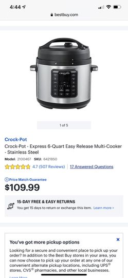 Crock Pot 6quart Thumbnail