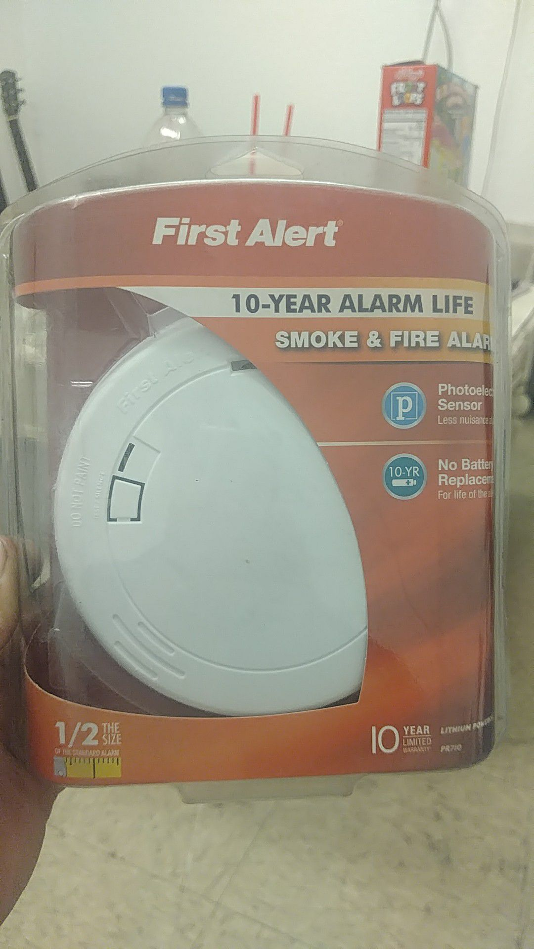 First Alert Smoke and Fire Alarm