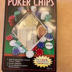Professional Poker Chips Thumbnail