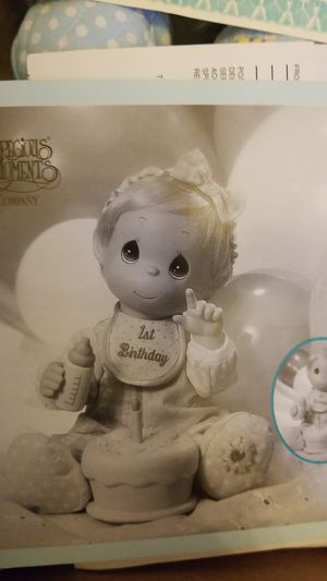 Baby's First Birthday doll, from precious moments collection. for Sale in Fairfax, VA