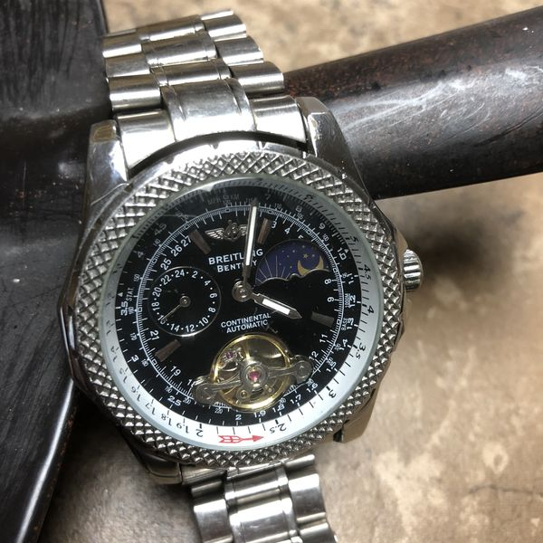 Real Breitling Bentley Motors Special Edition Blue Dial