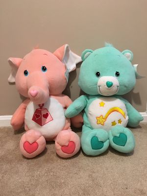 2 ft tall Care Bears for Sale in Germantown, MD