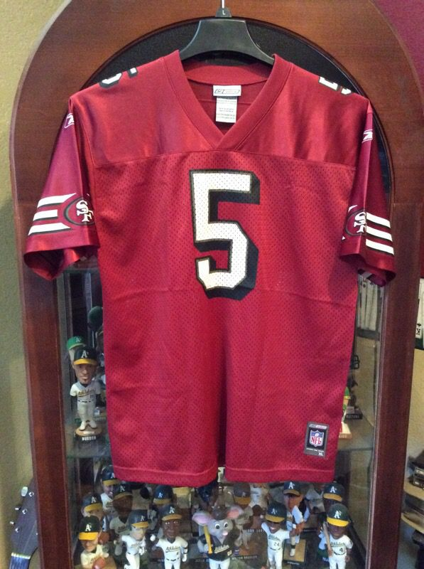 6d2c9be756b San Francisco 49ers Jeff Garcia  5 NFL Jersey for Sale in San Jose ...