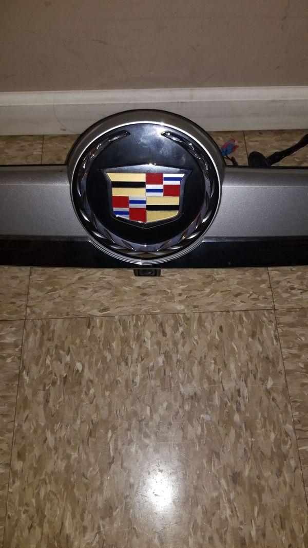15915679 2007-2008 Cadillac Escalade Rear Chrome Lift-gate Applique w//Camera Opt