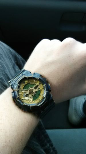 Used, G shock casio black and gold for sale  Tulsa, OK
