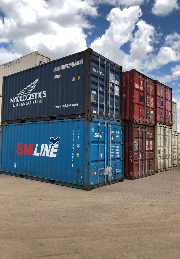 LOCAL 8x20 std shipping container connex A grade cargo worthy GUARANTEED  wind and water tight insulated for Sale in Phoenix, AZ - OfferUp