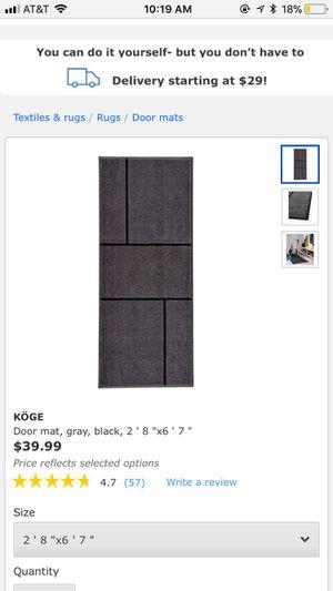 2 Ikea KOGE rug for Sale in Coronado, CA - OfferUp
