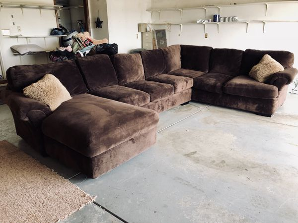 Large U shaped sectional sofa couch for Sale in Westfield, IN - OfferUp