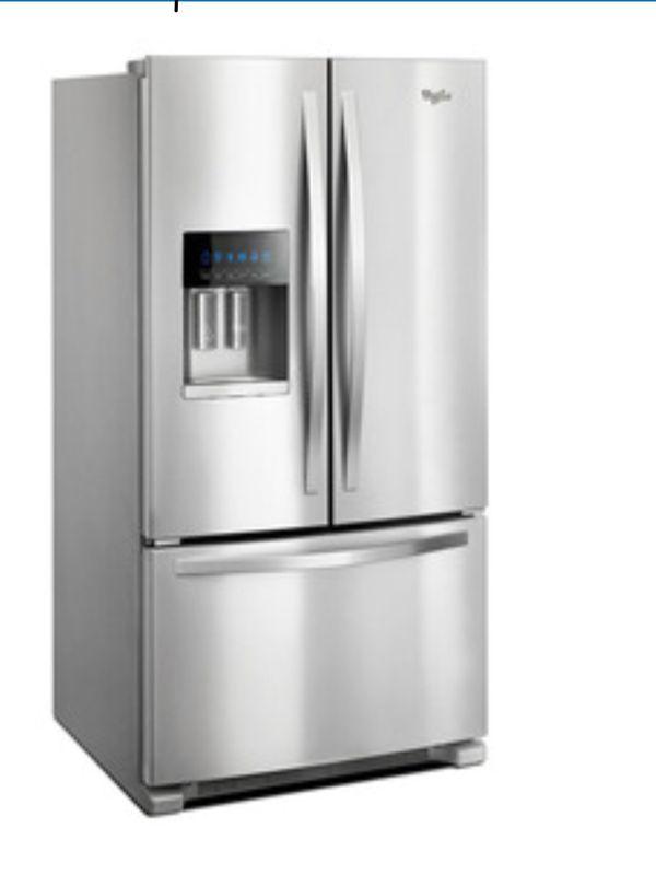 whirlpool 3 door refrigerator used for sale in philadelphia pa offerup. Black Bedroom Furniture Sets. Home Design Ideas