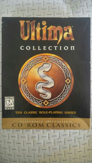 Ultima Collection CD-ROM for Sale in Baltimore, MD