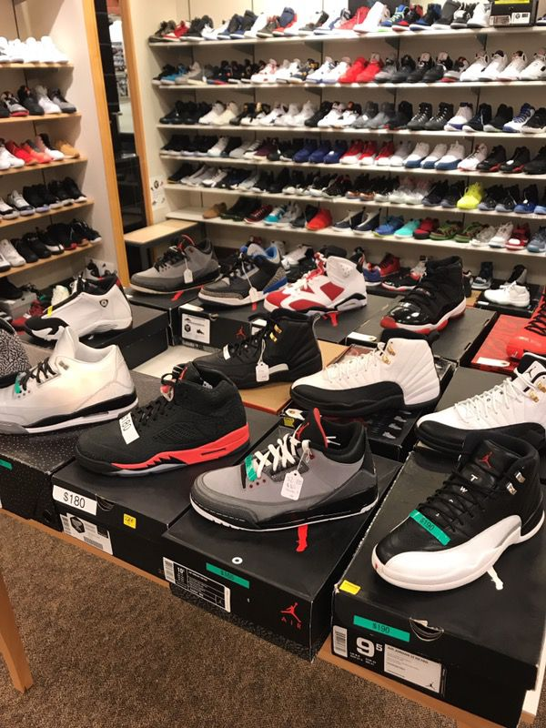 I buy all deadstock jordans and Yeezys and nmds at grailfinders southhill  mall   Come see us right next to maceys for Sale in Fife, WA - OfferUp