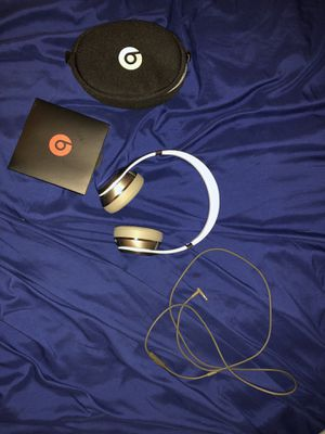 Beats Solo 2 Wired Luxe Edition for Sale in Apex, NC