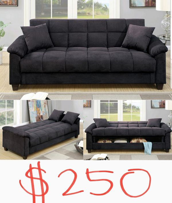 Sofa Bed With Storage For Sale: Brand New Sofa Bed Sleeper Couch With Storage Space For