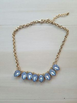 Blue crystal necklace for Sale in Seattle, WA
