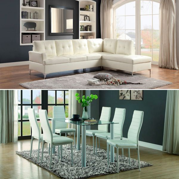 Furniture Package Sectional Sofa And Dining Room Set Labor Day Offer