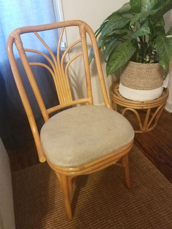 Vintage Rattan Chair West Palm Beach