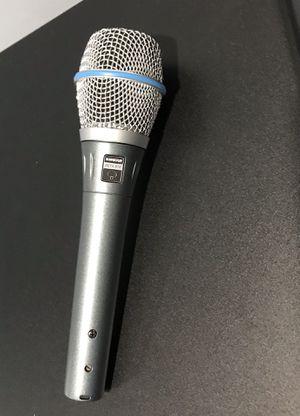 Shure Beta 87A Microphone for Sale in Alexandria, VA