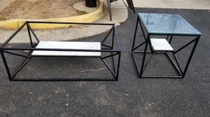 Coffee table and end/side table for Sale in Manassas, VA