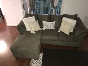 Grey couch for Sale in Germantown, MD